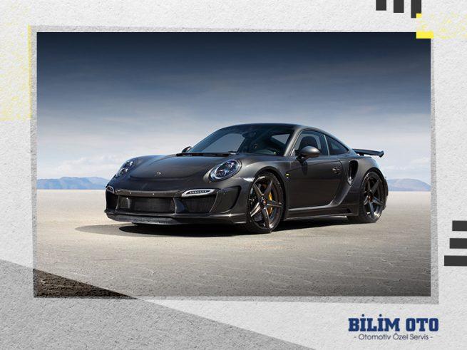 Porsche Amortisör Arızası